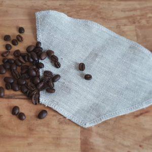 Kaffefilter återbrukat tyg